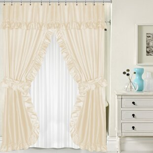Double Shower Curtain Set Wayfair