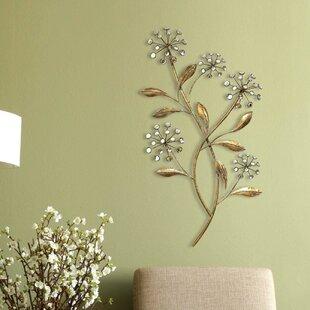 f9f6c9d3c7 Gold Tree & Nature Metal Wall Art You'll Love | Wayfair