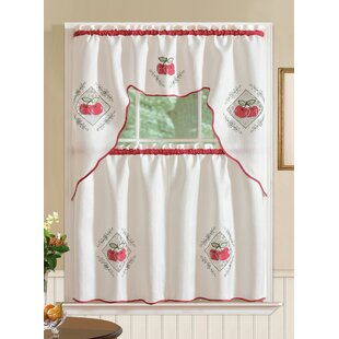 Tremendous Kitchen Curtains Tiers Set Wayfair Download Free Architecture Designs Scobabritishbridgeorg