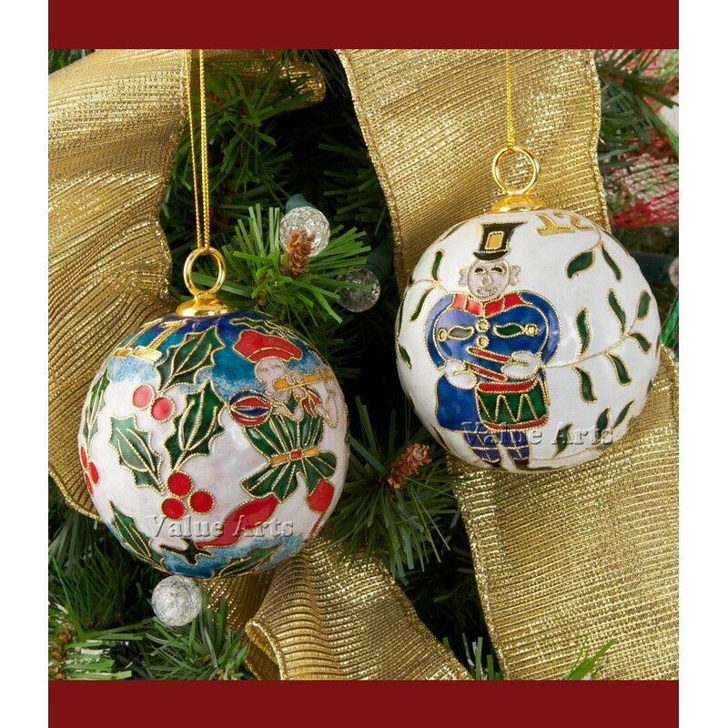 cloisonne 12 days of christmas ball ornament - 12 Days Of Christmas Decorations
