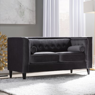 Small Curved Loveseat Wayfair