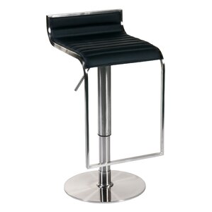 Bannerdown Adjustable Height Swivel Bar Stool by Orren Ellis
