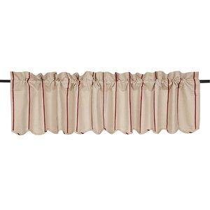 Boucher Scalloped Curtain Valance