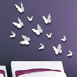 3d butterfly wall decal