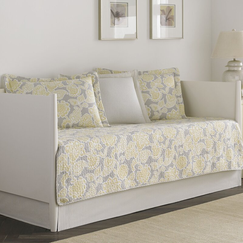 Laura Ashley Home Joy 5 Piece Reversible Daybed Set by Laura Ashley ...