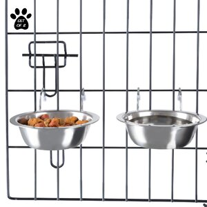 Stainless Steel Hanging Pet Bowl