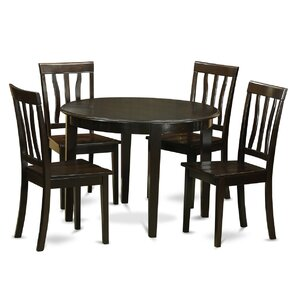 Boston 5 Piece Dining Set by Wooden Impor..