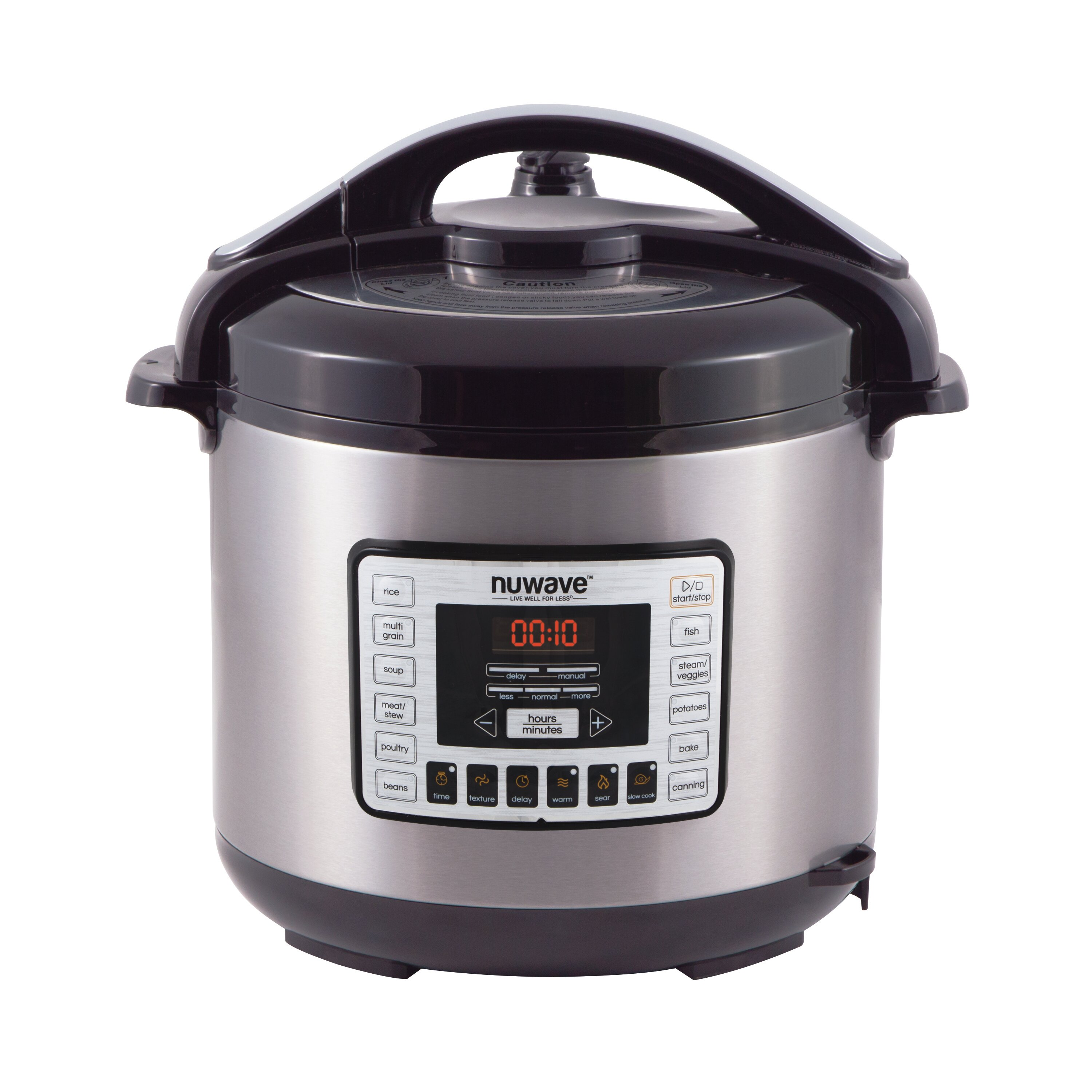 NuWave 8 Qt Electric Pressure Cooker Reviews
