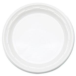 Famous Service Plastic Dinnerware Plate (Carton of 1000)  sc 1 st  Wayfair & Hard Plastic Plates | Wayfair