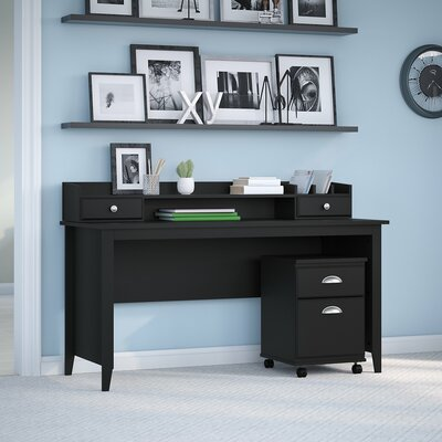 Connecticut 60W Writing Desk Kathy Ireland Office by Bush