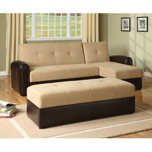 Logan Sleeper Sectional by Wildon Home ?