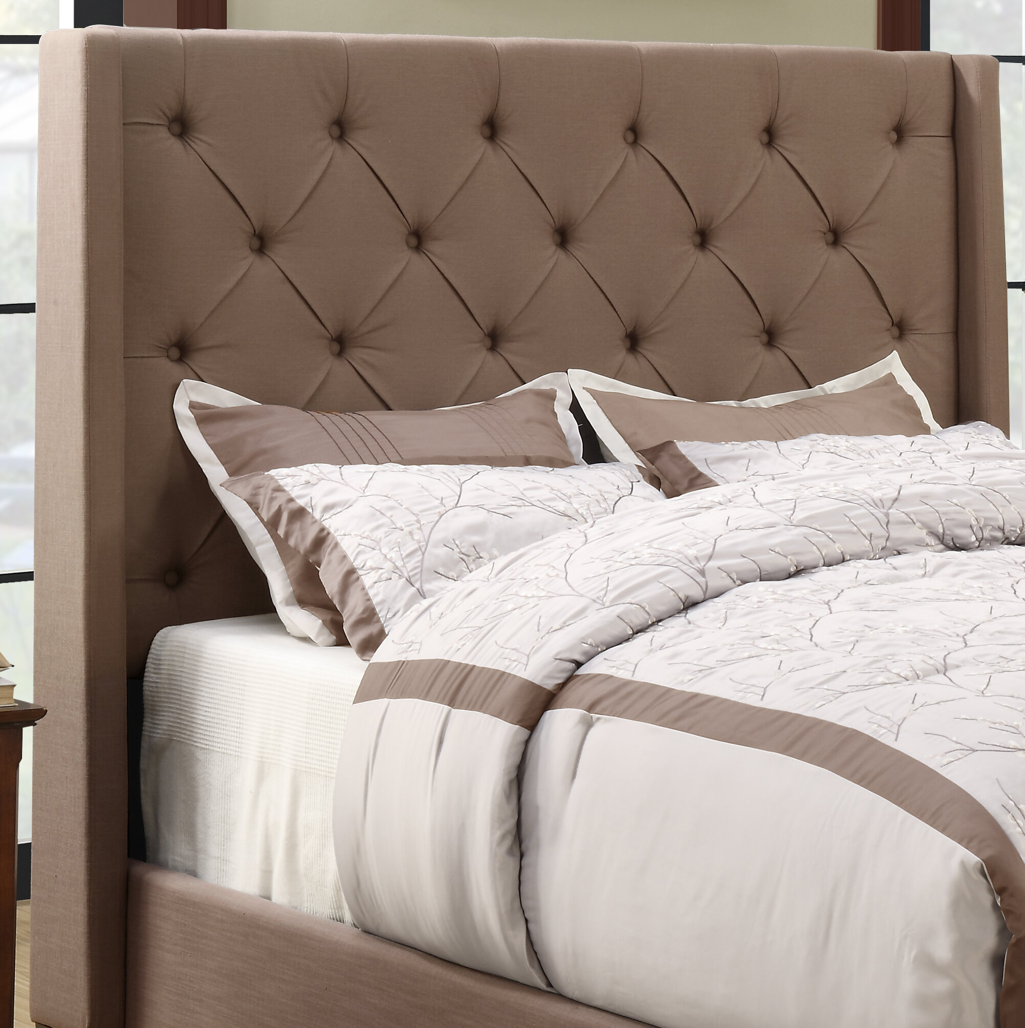 gallery shui bed an use burlap in feng all upholstered the bedroom headboard view about