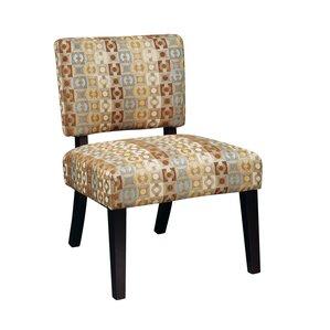Merkle Fabric Slipper Chair by Red Barrel St..