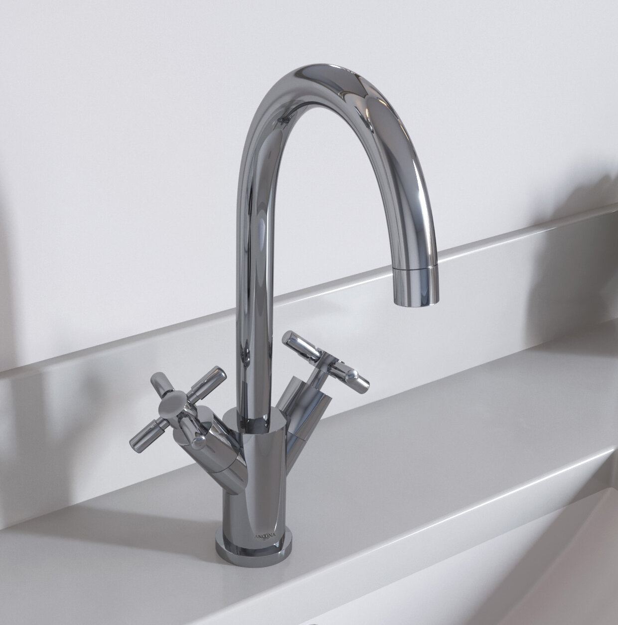 Ancona Prima Standard Bathroom Faucet with Optional Deck Plate & Reviews | Wayfair.ca