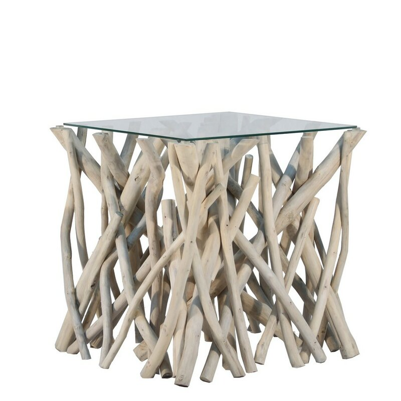 Incroyable Natural Branch End Table