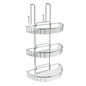 Curve Metal Hanging Shower Caddy