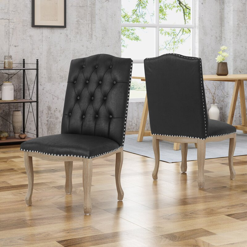 House Of Hampton Arend Traditional Upholstered Dining Chair Wayfair