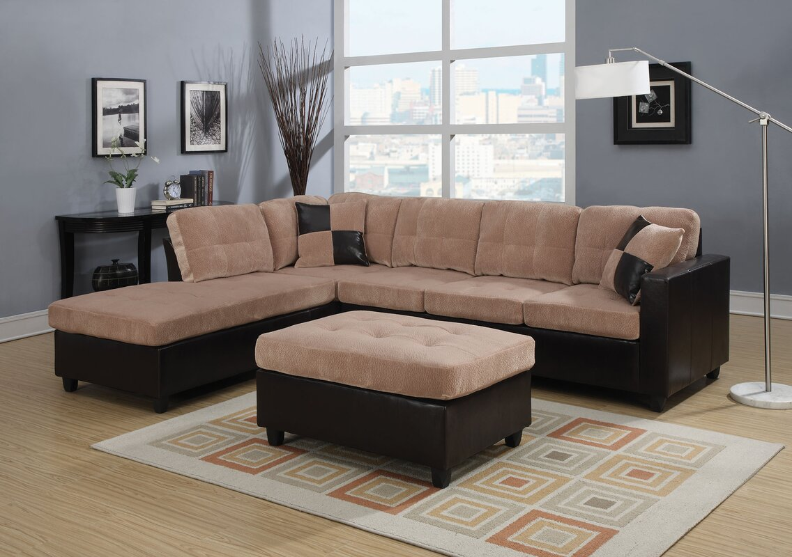 Milano Reversible Sectional