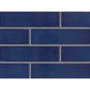 Reverie 2 5 X 9 Porcelain Subway Tile In Blue