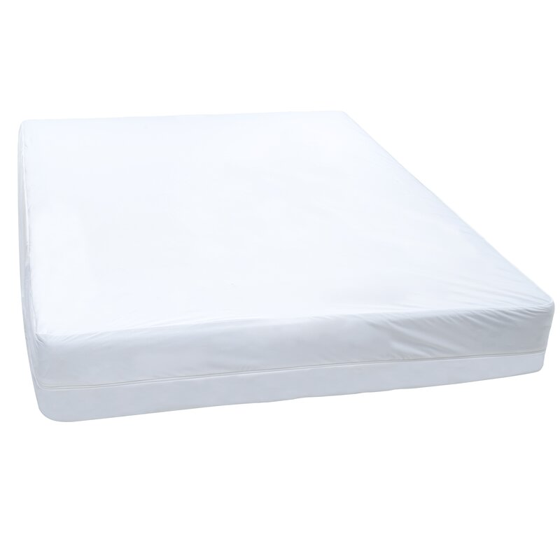 Alwyn home bed bug box spring hypoallergenic waterproof for Bed bug mattress and box spring protector