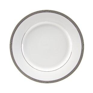 Lenox Federal Platinum Script Monogram Dinnerware Tidbit Plates A Set of 4