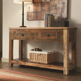 Katrina Reclaimed Wood Console Table