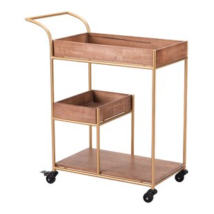 Noemi Bar Cart with Tray