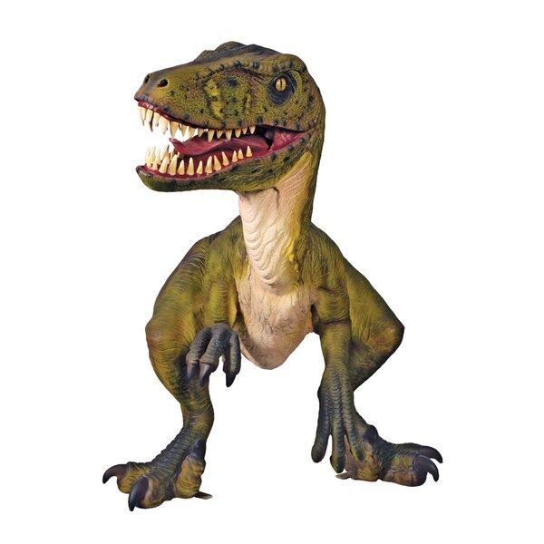 Design Toscano Jurassic Sized Dromaeosaurus Raptor