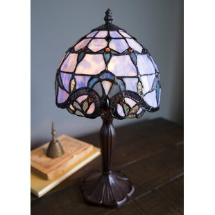 Tara Stained Gl 14 Table Lamp