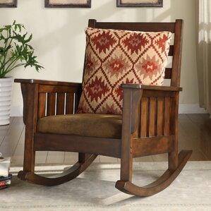 Maxie Rocking Chair by Hokku Designs