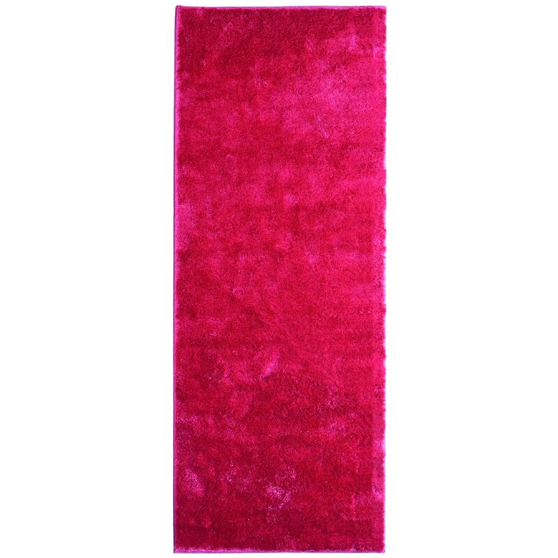 Metro Silk Hot Pink Area Rug