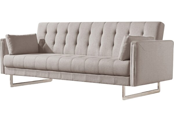 Modern Contemporary Exposed Wood Frame Sofa Allmodern