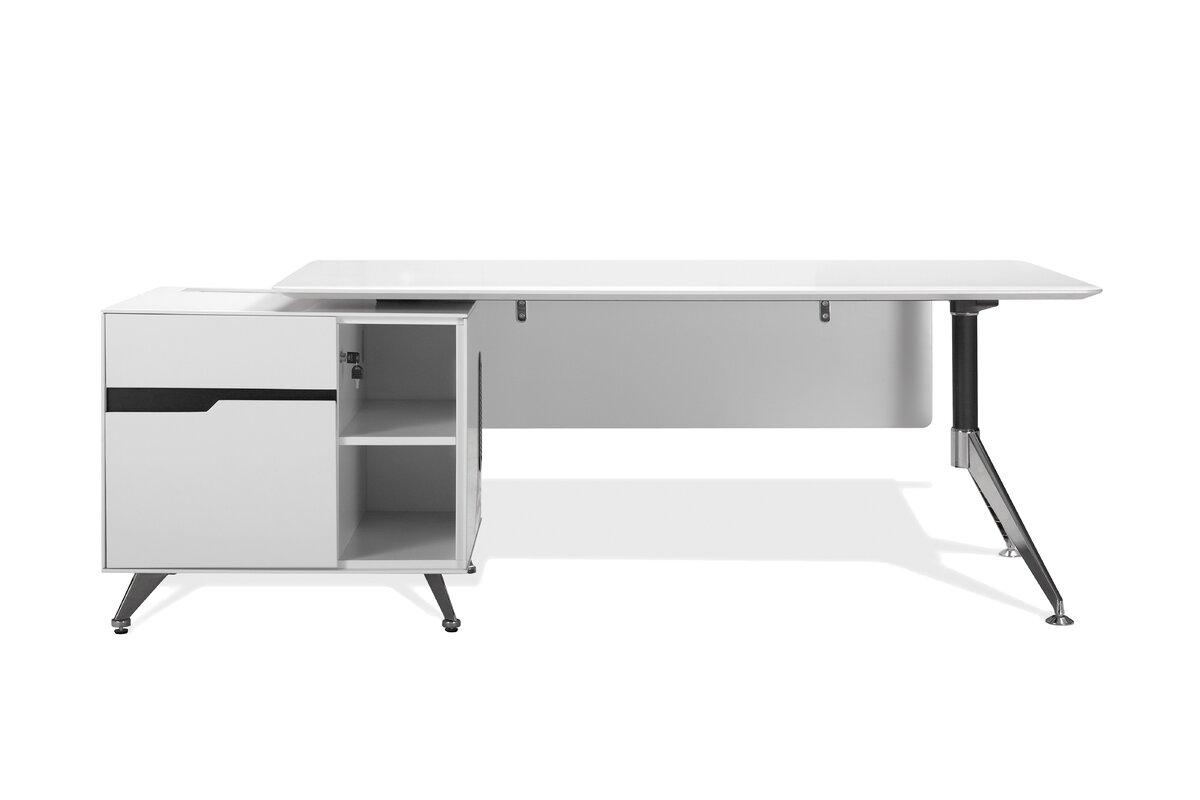 55 inch executive desk