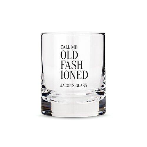 Weddingstar Call Me Old Fashioned 11 Oz Whiskey Glass Wayfair