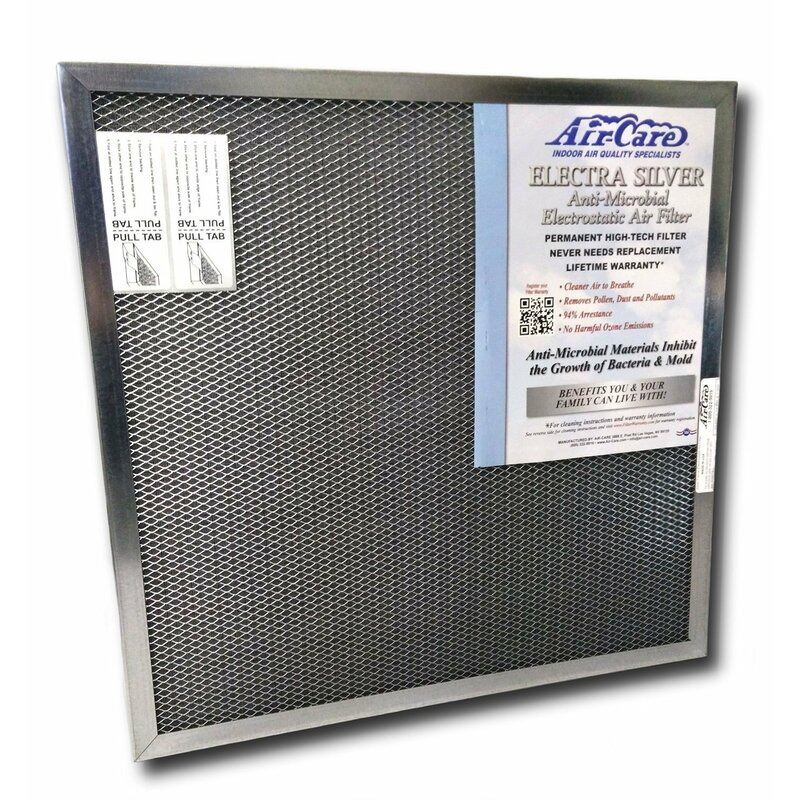 air-care washable electrostatic air filter for ac or furnace ...