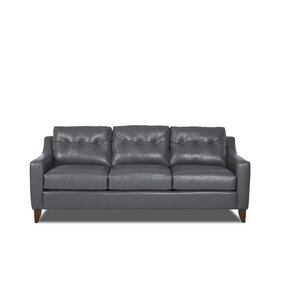 Ciccone Leather Sofa by Brayden Studio