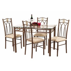5 Piece Dinette Set by Hazelwood Home