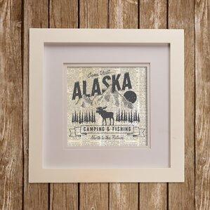 North Country Alaska Wall Décor