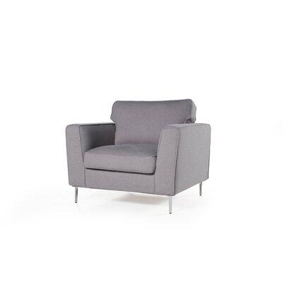 Brayden Studio Flanagan Armchair Upholstery: Mink