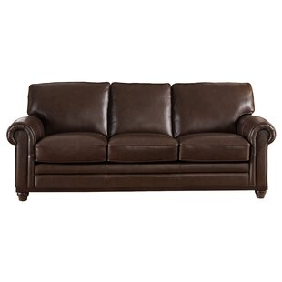 Merveilleux Coventry Top Grain Leather Sofa