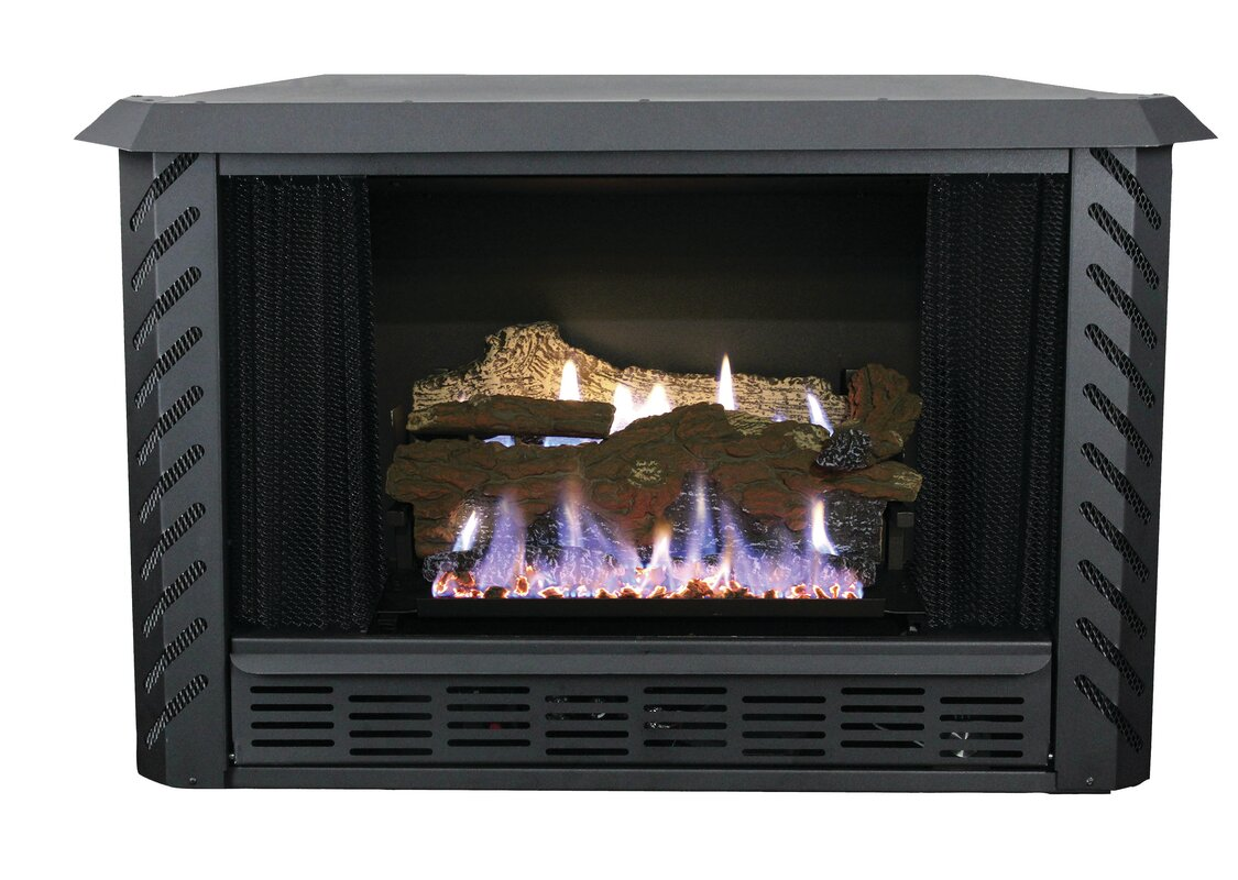 ashley hearth vent free natural gas fireplace insert u0026 reviews