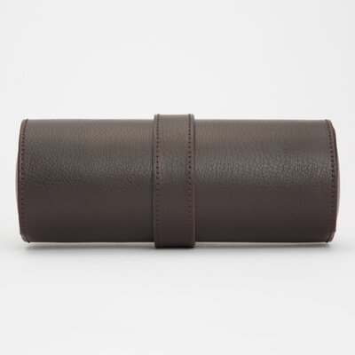 Alcott Hill Admiral Roll Watch Box Color: Brown