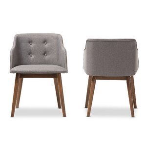Reticulum Barrel Chair (Set of 2) by Latitude Run