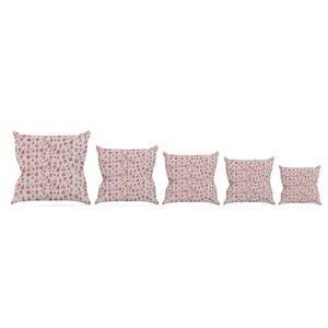 Miniature Christmas by Snap Studio Throw Pillow
