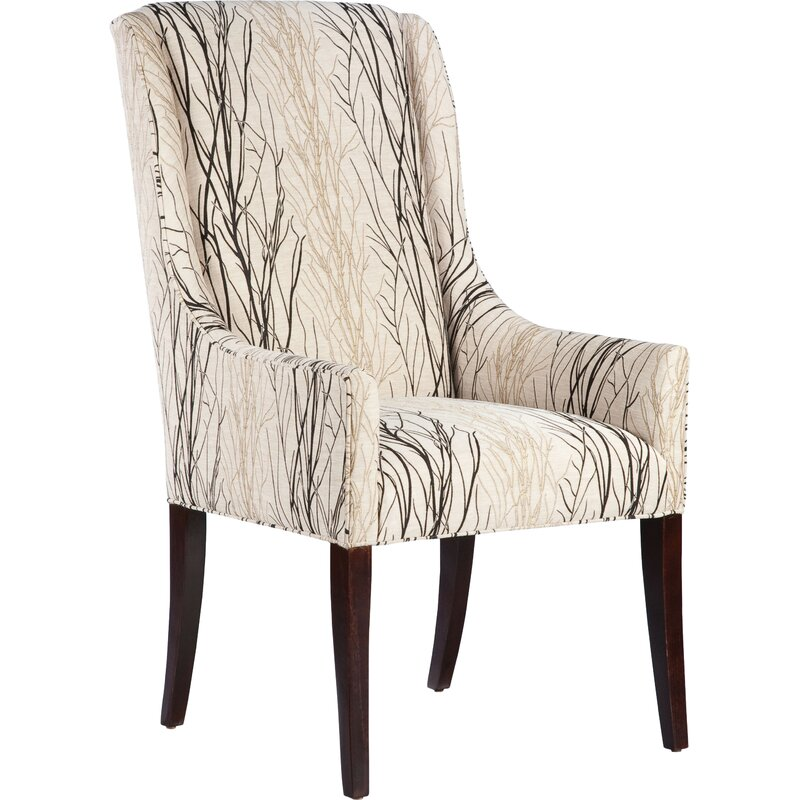 Upholstered High Back Dining Chair: Fairfield Chair High Back Upholstered Dining Chair