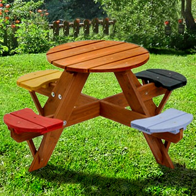 Nice Kids Picnic Table