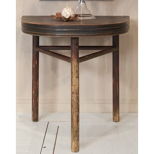 Semi Circle Wall End Table