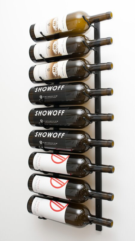 Wall Series 9 Bottle Wall Mounted Wine Rack & Reviews | AllModern