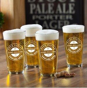 beer glasses you ll love wayfair