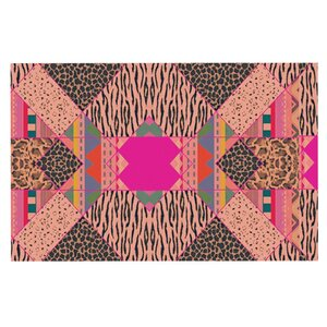 Vasare Nar 'New Wave Zebra' Doormat
